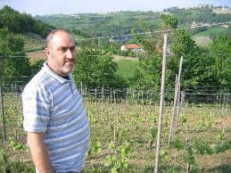Sergio nelle vigne a Ciglie`